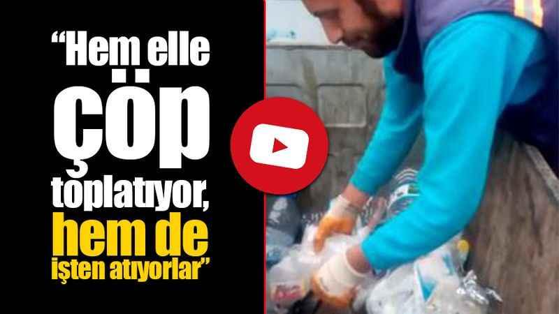 Hizmet-İş: İzmit Belediyesi salgında elleriyle çöp toplayan işçiyi de attı