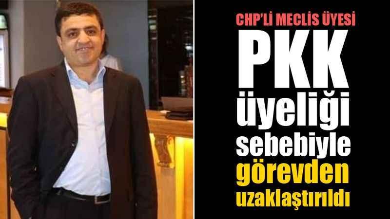 CHP'li meclis üyesi Osman Kurum, PKK sebebiyle görevden uzaklaştırıldı