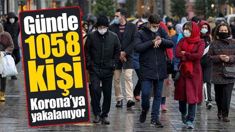 Kocaeli'de günde 1058 kişi Korona'ya yakalanıyor
