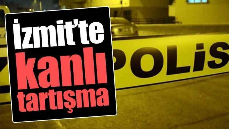 İzmit'te cinayete teşebbüs! İş merkezi karıştı