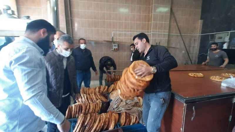 Ağrılılar'dan 1500 pide