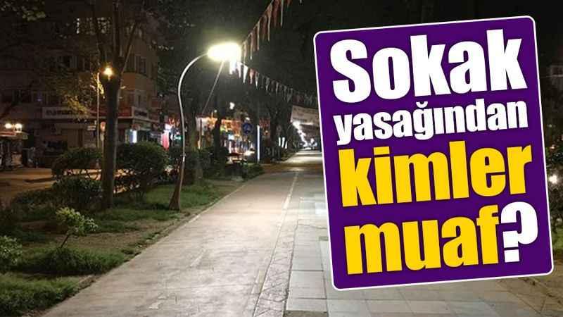 İşte Kocaeli'de sokak yasağından muaf olan yerler ve kişiler