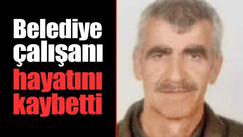 Gölcük Belediyesi çalışanı hayatını kaybetti