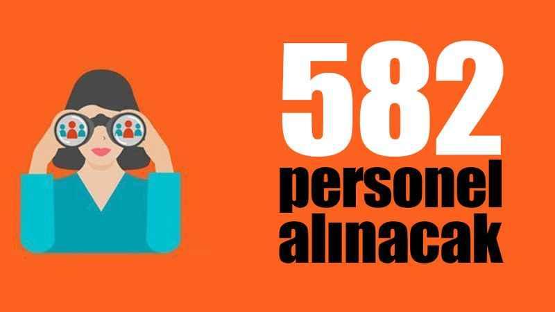 Kocaeli'de 582 personel alınacak