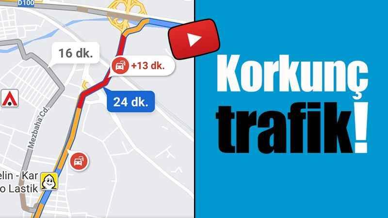 Yahya Kaptan çilesi. Korkunç trafik!