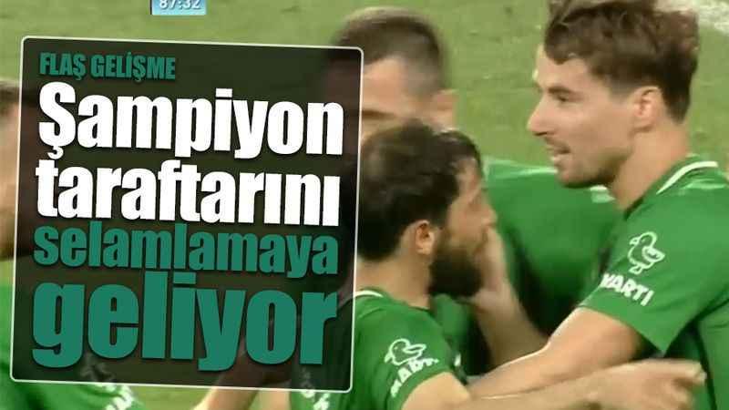 Kocaelisporlular dikkat! Şampiyon bu gece kupayla İzmit'e geliyor. Taraftar selamlanacak