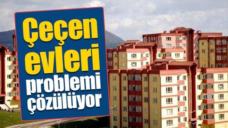 Körfez'in Çeçen evleri problemi çözülüyor
