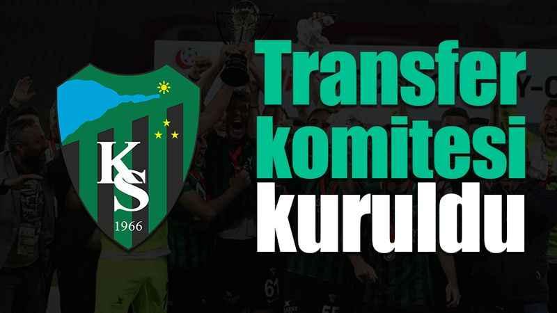 Şampiyon Kocaelispor'da transfer komitesi kuruldu