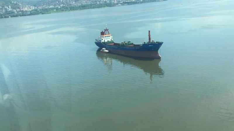 İzmit Körfezini kirleten bu gemiye 1 Milyon 301 Bin TL ceza kesildi