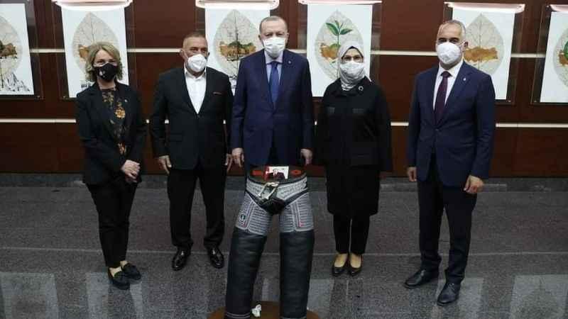 """Karamürsel'den Erdoğan'a """"Erdoğanlı"""" kispet"""