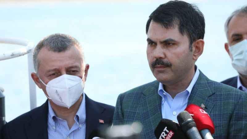 Bakan'dan müsilaj açıklaması: Marmara'yı kaderine terk etmeyeceğiz