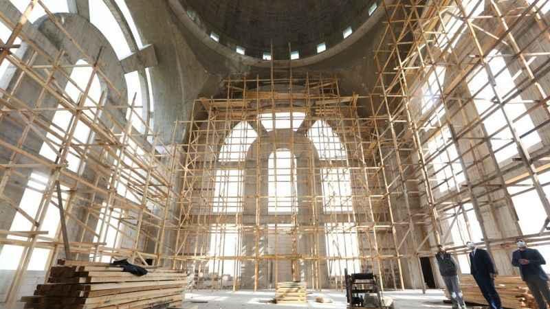 2 bin kişi ibadet edebilecek: Kaba inşaatı bitti