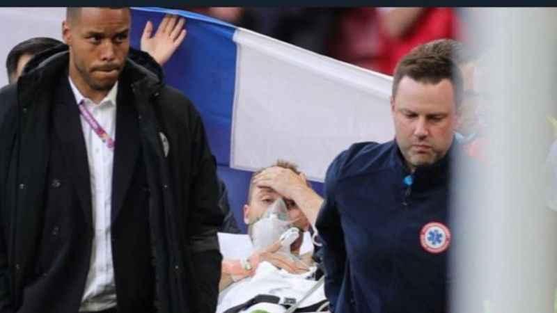 Eriksen şoku atlatıldı. Danimarka Finlandiya maçı devam edecek