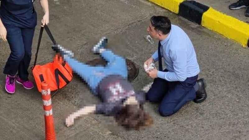 AVM terasından atlamıştı: Genç kız kurtarılamadı