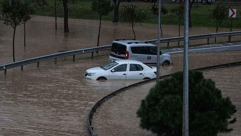 Kocaeli Valiliğinden sağanak yağış uyarısı