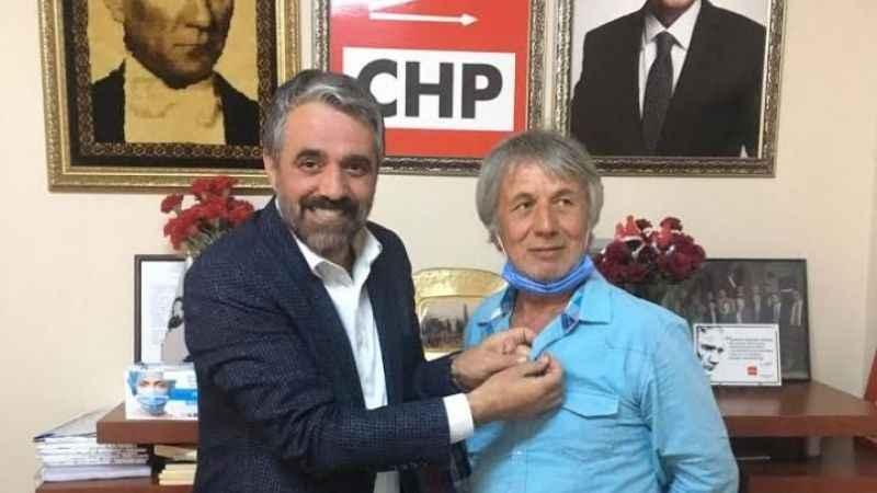 Eski ilçe başkanı CHP'ye üye oldu