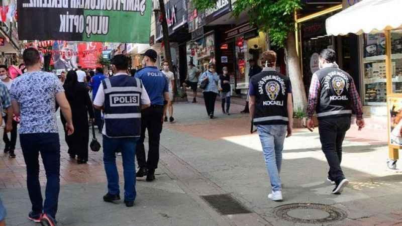 Kocaeli'de 420 kişi sokak yasağını ihlal etti