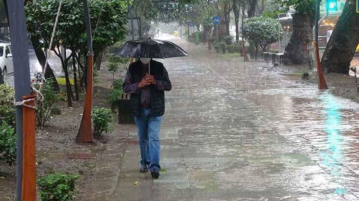 Çok fena yağmur geliyor!