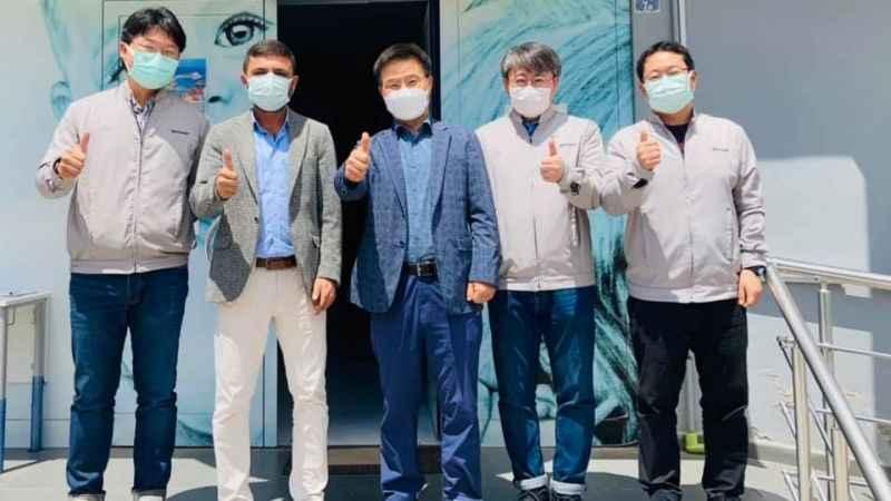 Hyundai CEO'suna da aşı yaptık!