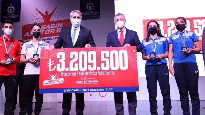 Amatörspor'a 2 yılda 100 milyonluk destek