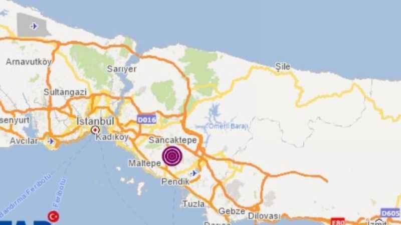 Kocaeli'de şiddetli depremde sallandı!