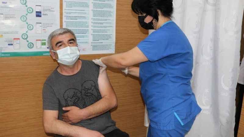 Kocaeli'de 1 milyonuncu aşı yapıldı