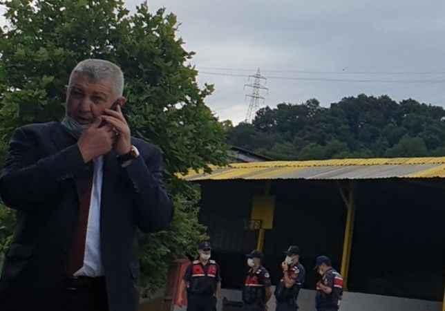 Lütfü Türkkan'a destek veren tek AK Partili!