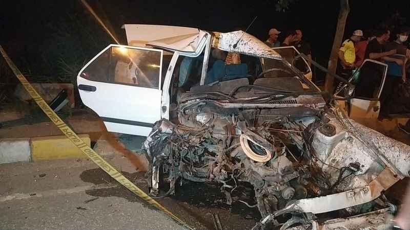 Komşuda feci kaza: Yeni aldığı otomobil sonu oldu