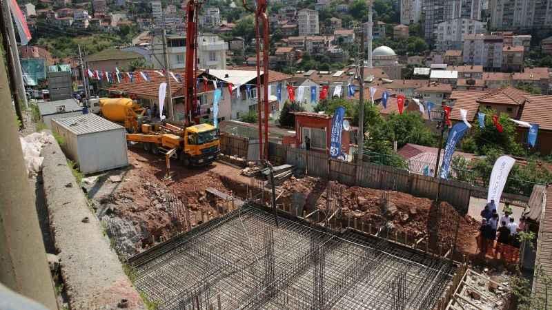 2.5 milyonluk yatırım: Gültepe Kültür Merkezinin temeli atıldı