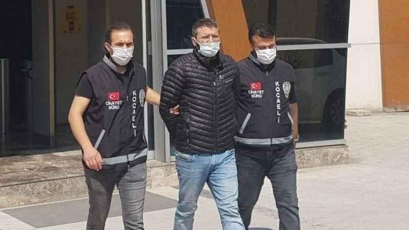 Kan donduran cinayetin zanlısı yurt dışına kaçmaya çalıştı