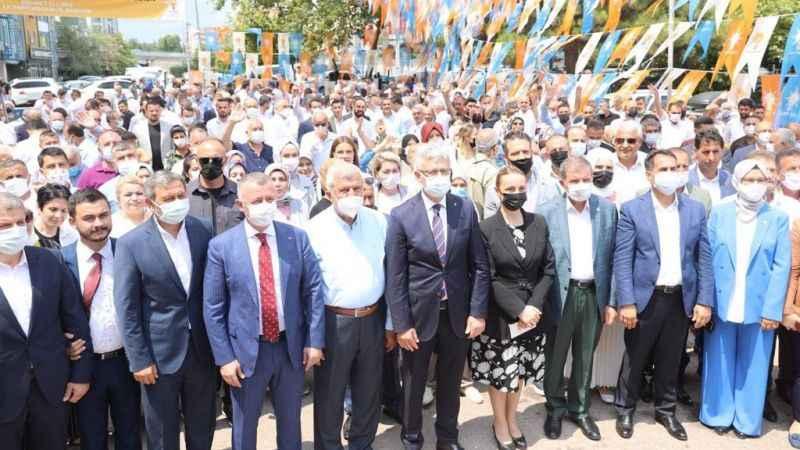 AK Parti'de hüzünlü bayramlaşma. Tüm kayıplar tek tek okundu