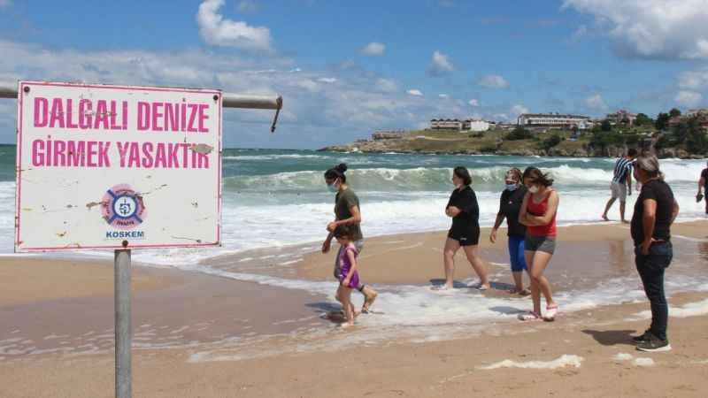 Kandıra'da denize girme yasağı uzatıldı
