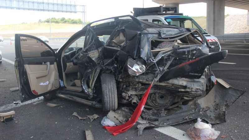 İzmit'te bayram dönüşü feci kaza