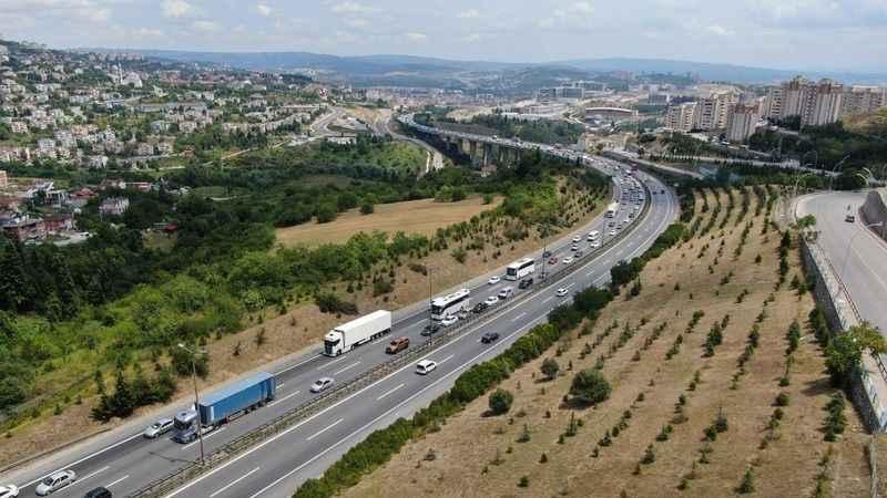 Bayramda Kocaeli'den 4 milyon araç geçti