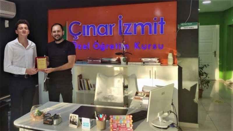 Çınar İzmit'ten Türkiye derecesi