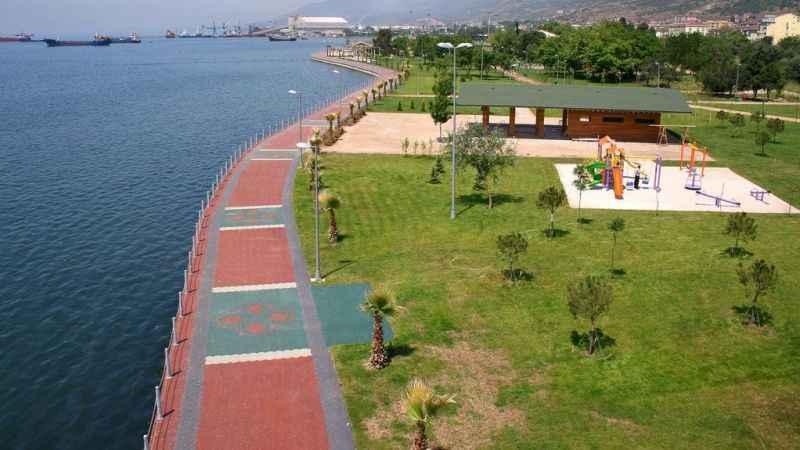 Yarımca sahile sosyal bina!
