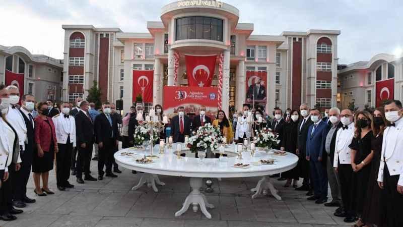 Zafer Bayramı Kabul Töreni ilk kez…!