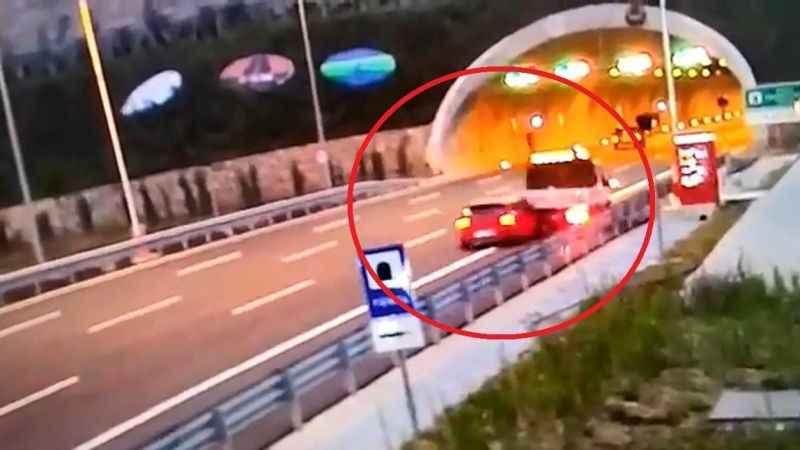 Kuzey Marmara'daki i feci kaza kameralara yansıdı
