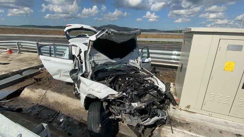 Kuzey Marmara'daki feci kazada yürek yakan detay