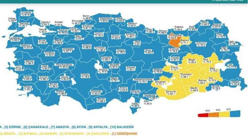 Harita mavi ama vakalar da ölümler de uçtu!