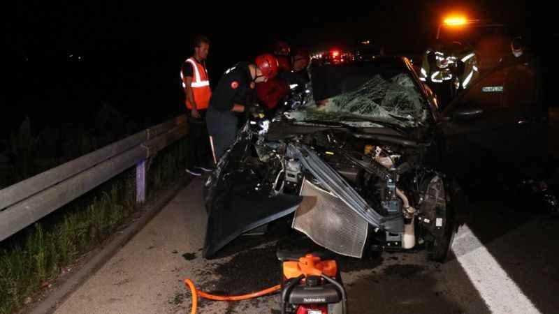 Kuzey Marmara Otoyolu'nda kaza: 1 ölü, 3 yaralı