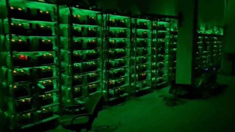 İflas eden fabrikaya bitcoin tesisi kurmuşlar
