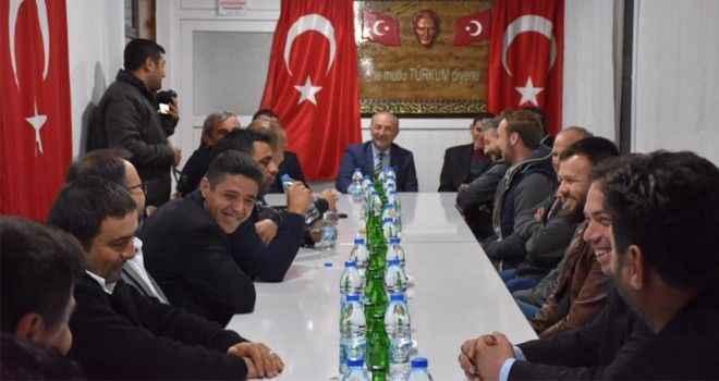 Atabay, Didim 75 Gençlik üyeleriyle bir araya geldi
