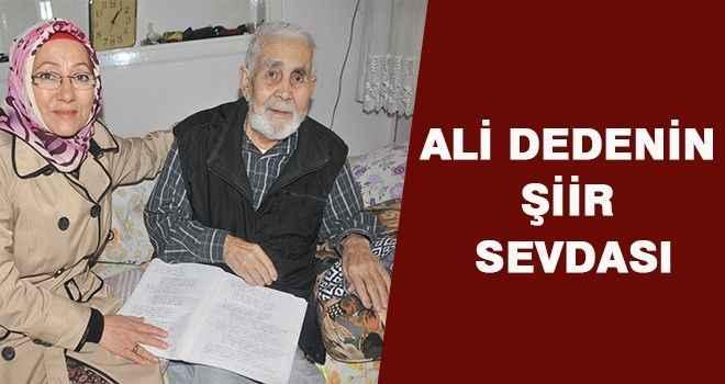 Ali dedenin şiir sevdası
