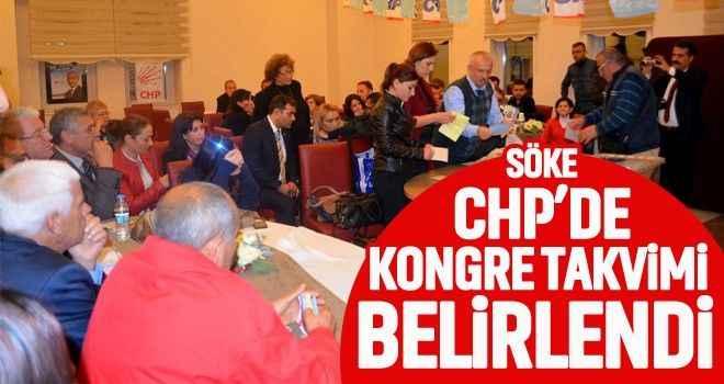 Söke CHP'de kongre takvimi belirlendi