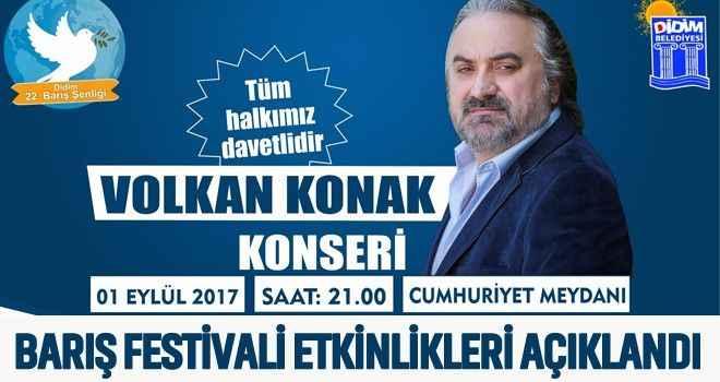 Barış Festivali etkinlikleri açıklandı