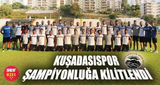 Kuşadasıspor şampiyonluğa kilitlendi