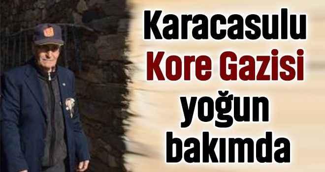 Karacasulu Kore Gazisi yoğun bakımda