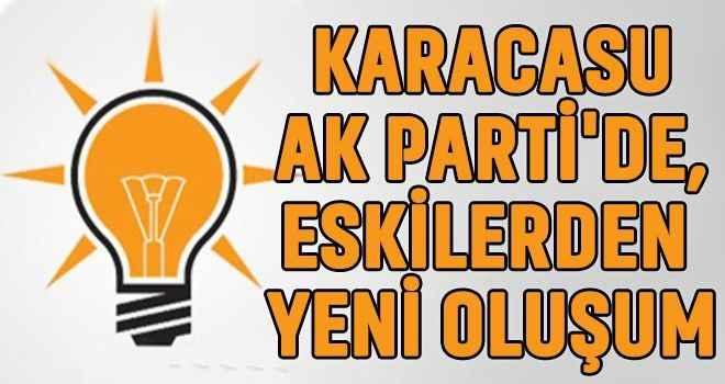 Karacasu AK Parti'de, eskilerden yeni oluşum