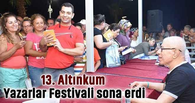 13. Altınkum Yazarlar Festivali sona erdi